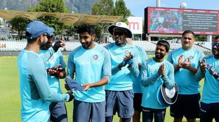 India vs South Africa: Jasprit Bumrah receives maiden Test cap from Virat Kohli, watch video