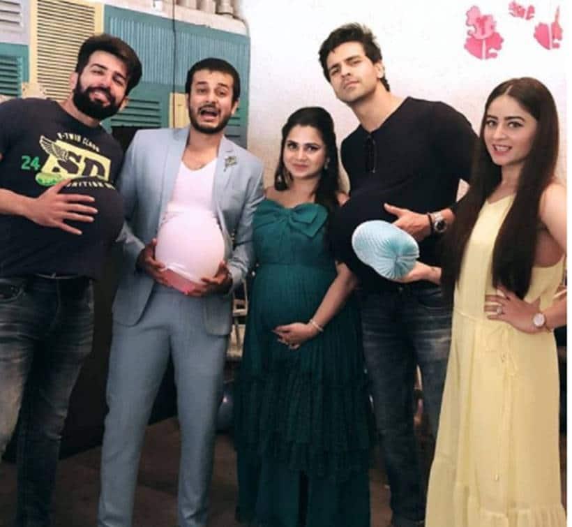 Jay Bhanushali, Mahhi Vij, Divyanka Tripathi, VIv3ek Dahiya, Jay Soni wife, Jay soni wife baby shower,