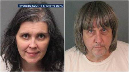 California Police comb through filthy home where starving siblings found
