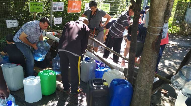 Water crisis in cape town