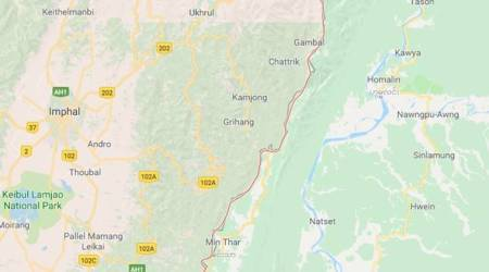 Earthquake of magnitude 5.5 hits Manipur