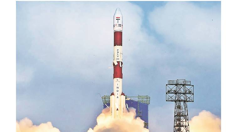 ISRO hits a century; launches Cartosat 2 series Sat, 30 others