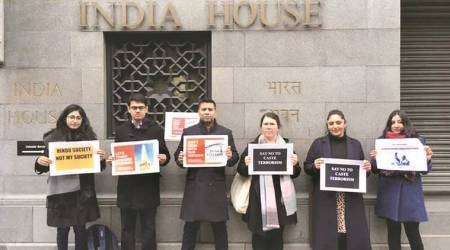 Ambedkarite Students Association holds protest in London