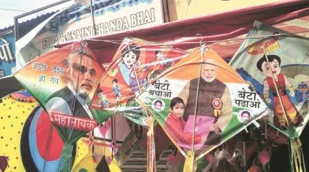 PM Modi, Rahul-themed kites to dot the sky this year