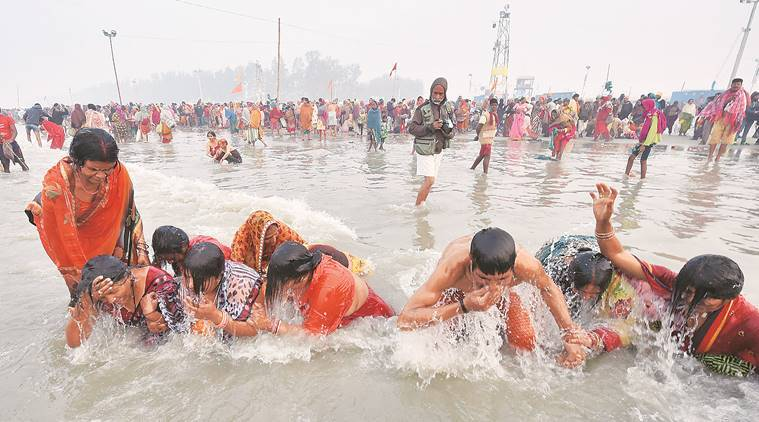 Gangasagar mela: '20 lakh people already visited', govt says footfall today to break all records | India News,The Indian Express