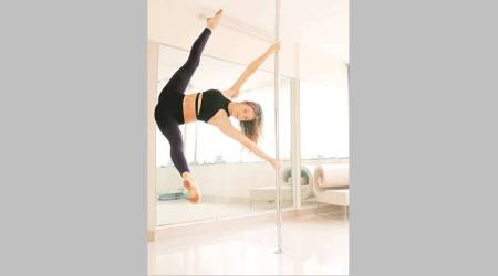 On the Job: This Ukrainian is on a mission to popularise pole dancing in India