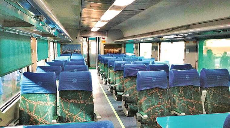 ahmedabad mumbai shatabdi, shatabdi express, shatabdi train facilities, irctc, western railway, indian railways, indian express