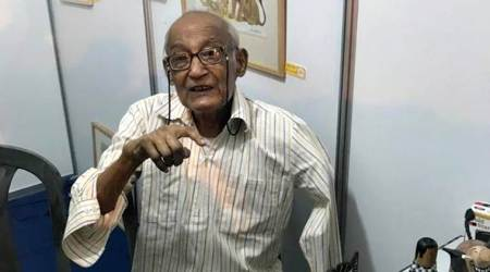 Chandi Lahiri, cartoonist died, chandi lahiri death, kolkata, west bengal, bengali cartoonist death, indian express