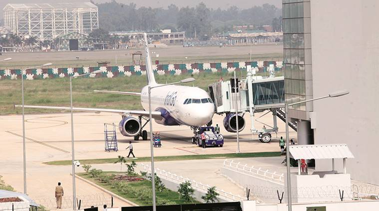 Chandigarh International Airport, Runway Upgrade, Chandigarh airport, Chandigarh airport runway, Chandigarh News, Indian Express