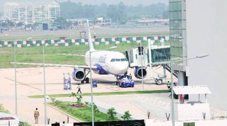 Chandigarh airport saw decline of 40,000 passengers in September-December '17