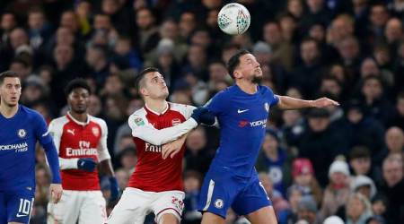 Chelsea play out dull 0-0 draw against Arsenal in League Cup semi-final
