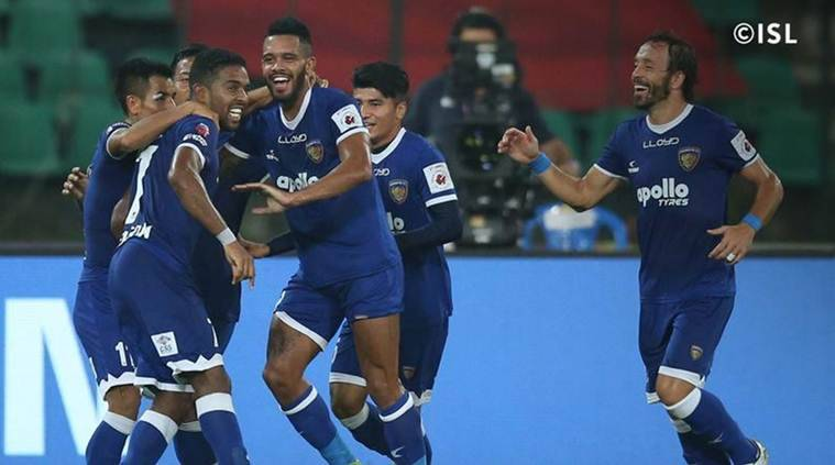 ISL, Indian Super League, Chennaiyin FC, FC Pune City, Chennai vs Pune, sports news, football, Indian Express
