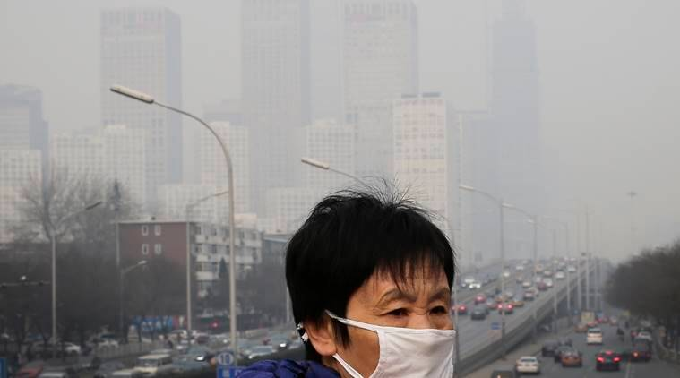 beijing, china pollution