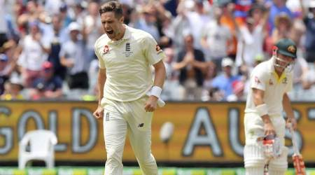 Ashes 2017-18: Chris Woakes out of fifth Test, Mason Crane to debut for England