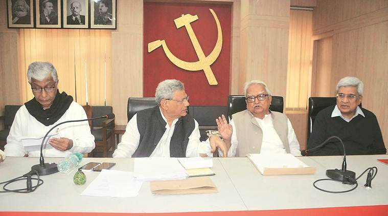 CPM panel nixes Yechury's plan for 2019 pact with Cong