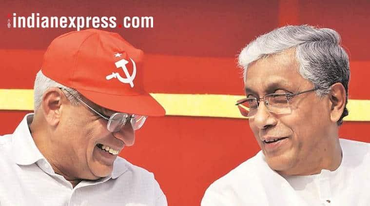 tripura election 2019, cpim, communist party of india marxist, bjp tripura, northeast, tripura assembly polls, agartala, left parties, prakash karat, manik sarkar, indian express