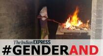 This woman does the final rites at Kochi crematorium