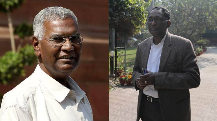 Senior CPI leader D Raja's visit to justice Chelameswar's residence raises eyebrows