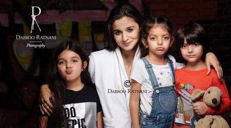 Alia Bhatt is at her chirpy best while posing for Dabboo Ratnani's 2018 calendar