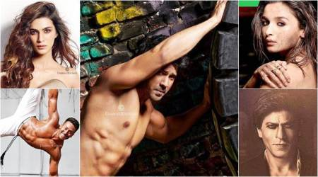 Kriti Sanon, Varun Dhawan and Tiger Shroff raise the oomph quotient of Dabboo Ratnani 2018 calendar