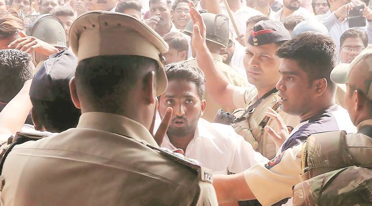 Molestation charge added to FIRs against protesters