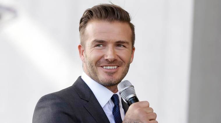 Football star Beckham launches Miami team