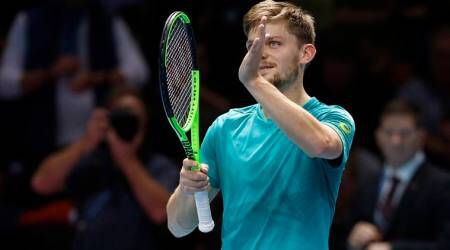David Goffin suffers painful exit inRotterdam
