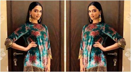 Deepika Padukone in this colourful Sabyasachi ensemble is a big disappointment; see pics
