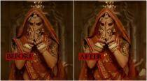 Deepika Padukone's exposed midriff in Ghoomar gets a 'sanskari' VFX touch; Twitterati can't keep calm