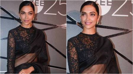 Deepika Padukone's sheer Sabyasachi sari has an interesting style lesson for us