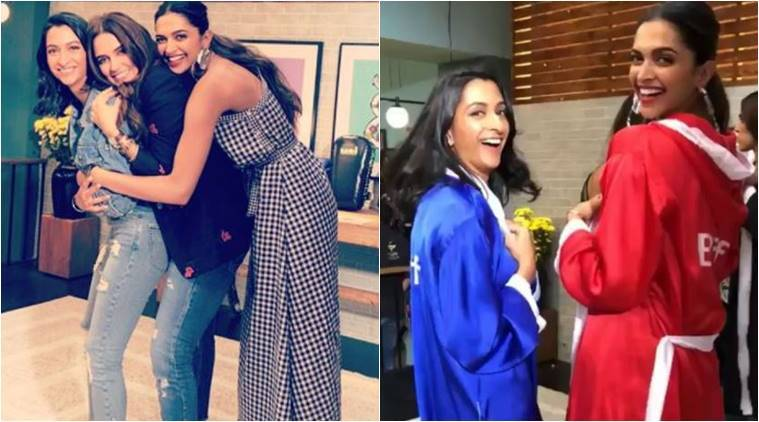 Image result for deepika padukone and sister
