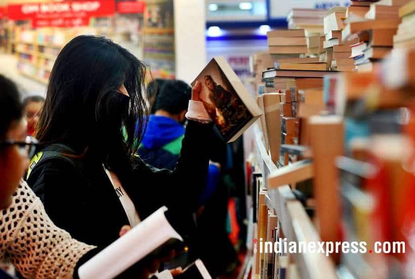 book fair, delhi book fair photos, world book fair 2018, pragati maidan, delhi book fair images, pragati maidan book fair pics, indian express