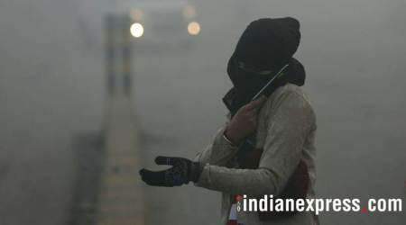 delhi weather, fog, smog, weather prediction, new delhi temp today, indian express