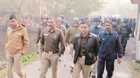 Cop on life support after mob attacks police team during raid, seven arrested