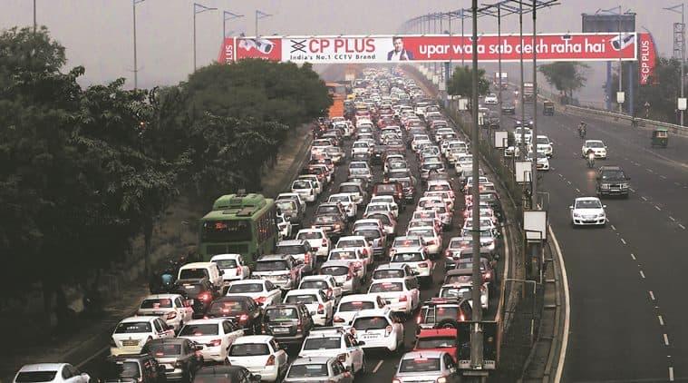 delhi, delhi traffic, republic day 2018, republic day road restrictions, republic day traffic, delhi rains, republic day parade, republic day celebrations, indian express