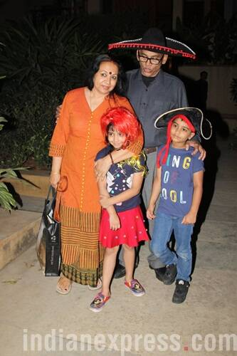 Ishaan and Ruhi at Vidya Balan's party