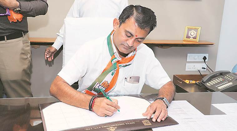 Gujarat state assembly, Leader of opposition, Paresh Dhanani, Congress Paresh Dhanani, Gujarat news, Indian Express