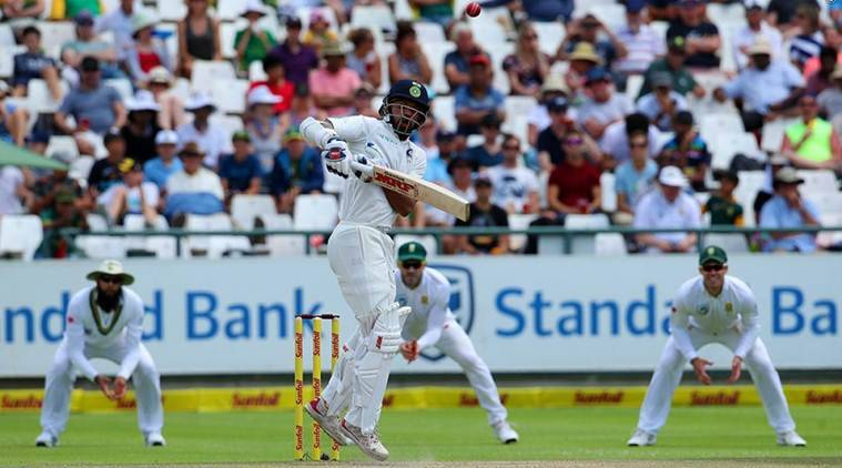 india against south africa test