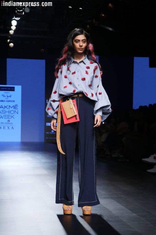 Lakme fashion week, lakme fashion week latest, lakme fashion week photos, lakme fashion week day 1, lakme fashion week gen next, lakme fashion week gen next INIFD, LFW gen next fashion INIFD, Indian Express, Indian Express News