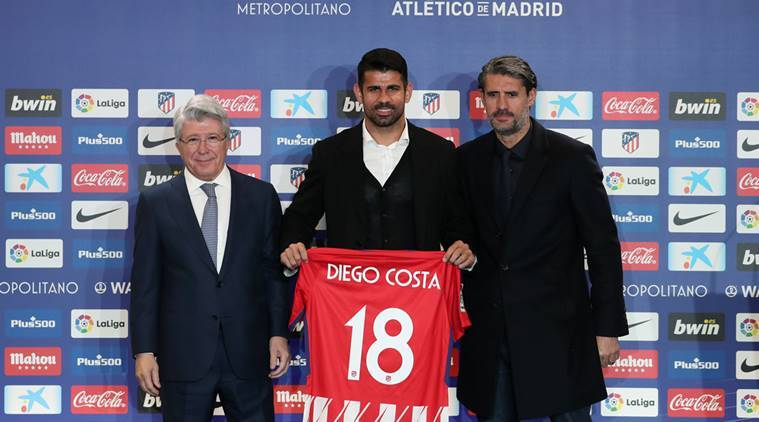 Atletico Madrid Finally Unveil Diego Costa And Vitolo