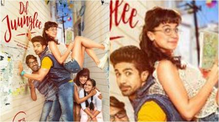 Dil Juunglee: It's time to witness the mad side of Saqib Saleem and Taapsee Pannu. Watch video