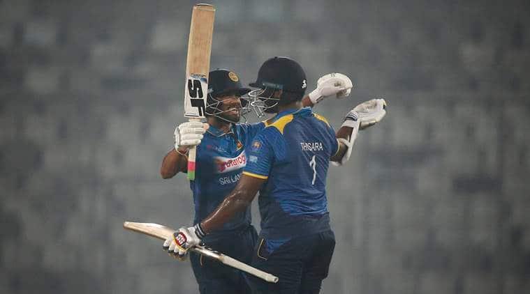 Bangladesh are playing Zimbabwe in Sri Lanka.