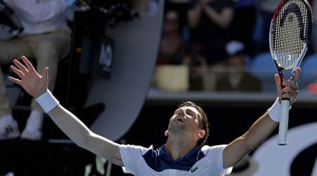 Australian Open 2018: Novak Djokovic elbows Donald Young out to reach second round