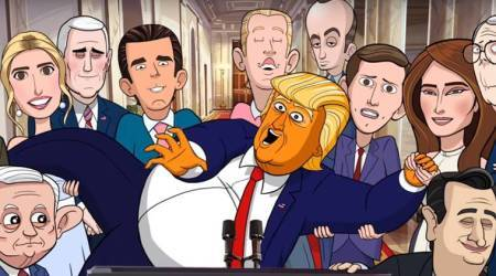 VIDEO: Stephen Colbert's 'Our Cartoon President' takes a dig at Donald Trump