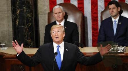 State of the Union address: Donald Trump says era of economic surrender isover