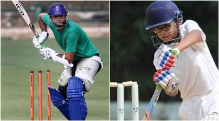 Rahul Dravid and Sunil Joshi's sons Samit and Aryan hammer match-winning centuries