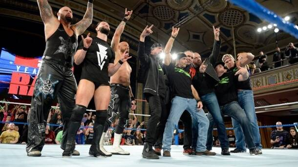 D-Generation X with The Balor Club