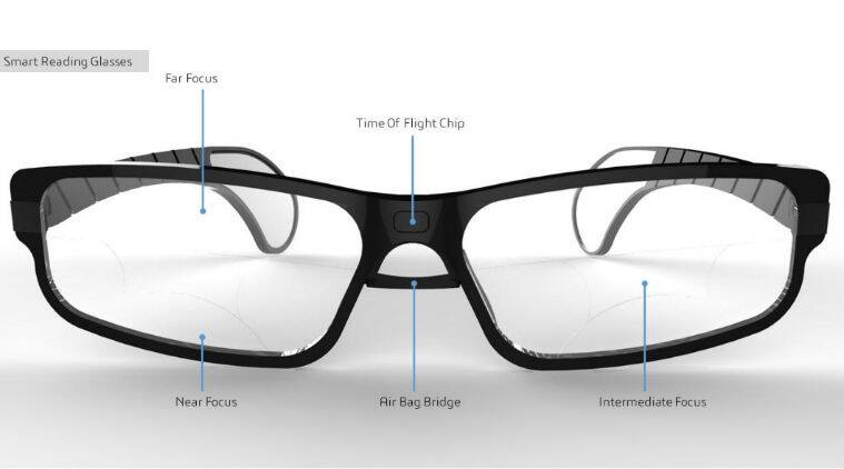 CES 2018: Dynafocals, smart glasses that change focus in real-time