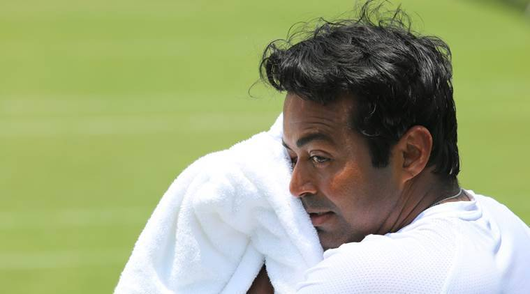 Leander Paes, Leander Paes news, James Cerretani, Newport Beach Challenger, sports news, tennis, Indian Express