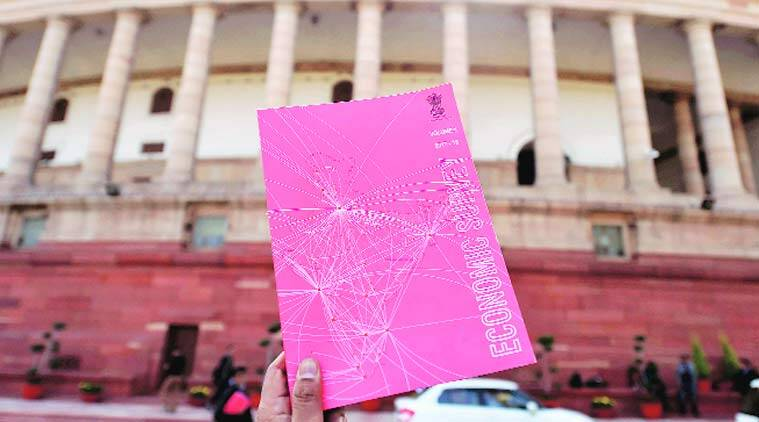 economic survey, economic survey 2018, economic survey of india, economic survey pink cover, Ease of Doing Business, arvind Subramanian, arun jaitley, budget session 2018, budget 2018